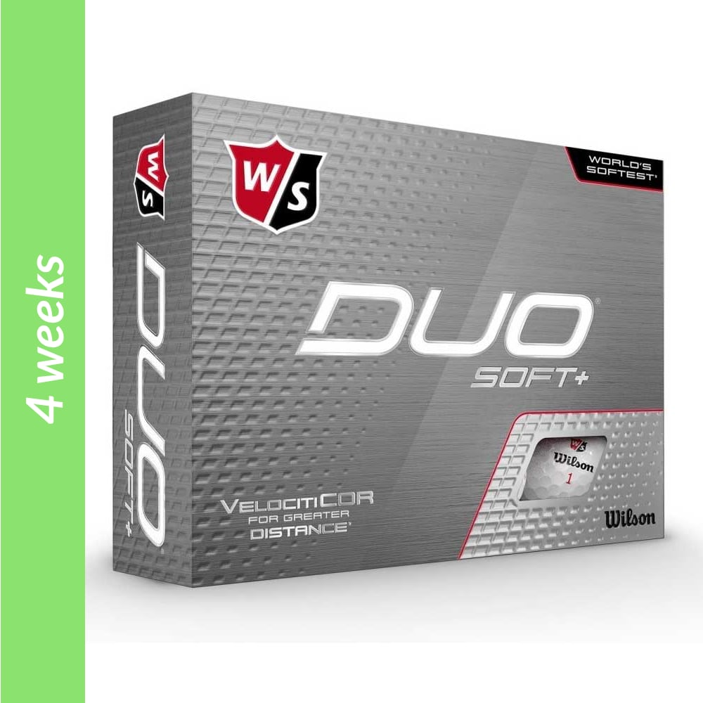 Wilson Staff Duo Soft+ Logoballs