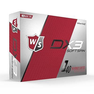 Wilson Staff Dx3 Spin Logobälle