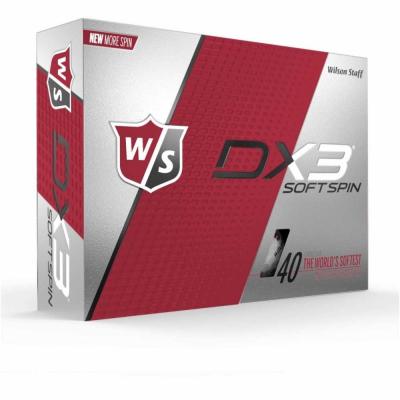 Wilson Staff Dx3 Soft Spin Logobälle