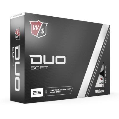 Wilson Staff Duo Soft+ Logobälle